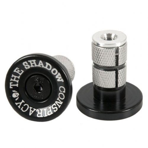 Shadow Deadbolt Bar Ends - Black